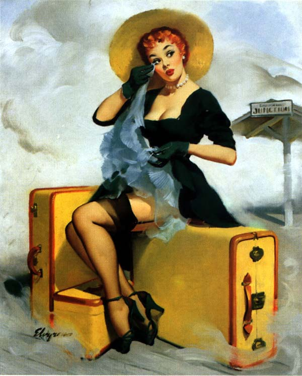 Art Of The Pinup: Art Gallery